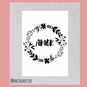 Pôster A4: Amor