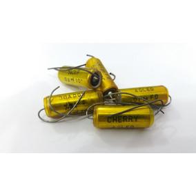 5 Capacitores A Òleo Cherry - 01 Mfd 600vdc