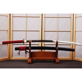 Espada Katana Samurai Afiada Original Ninja Aço Carbono 1095