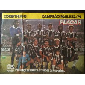 Poster Placar Corinthians Campeão De 79 E Ponte Preta Vice