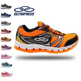 0113f2530610c Tenis Olimpikus masculino - Olympikus para Masculino Laranja no ...