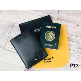Porta Pasaporte Mont Blanc, Incluye Envio Gratis