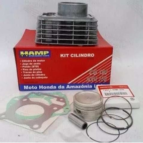 Kit Cilindro Cg 150 / Bros/ Fan 100% Original Honda