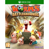 Juego De Xbox One Worms Battlegrounds En Fisico