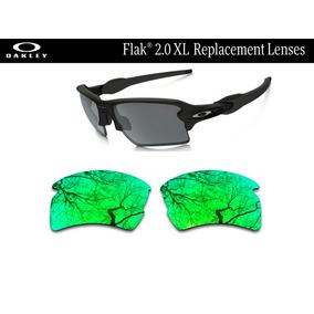 Micas De Reemplazo Para Oakley Flak 2.0 Xl Color Jade Iridiu