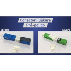 Kit 300 -fast Conector Apc/upc Fujikura Pre Polido