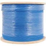 Carrucha Cable Lantek Utp Cat6 305 Metros Azul Puro Cobre