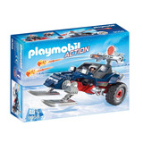 Brinquedo Playmobil 9058 Pirata Do Gelo Com Snowmobile