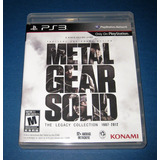 Metal Gear Solid - Legacy Collection Ps3* Play Magic