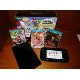 Oferta Wii U 32gb Incluye Juegos Originales