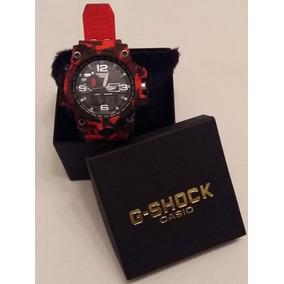e3626fe5694 Relogio Casio Digital Vermelho - Relógios De Pulso no Mercado Livre ...