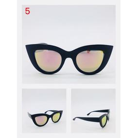 8c0a19dd6145d Oculos De Sol Espelhado Rosa Gatinho Vintage - Óculos no Mercado ...