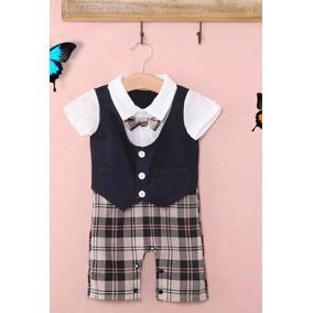 Traje Elegante Para Bebe - Ropa para Bebés Azul marino en Mercado ... 4156dbd14ed