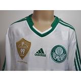 87064ef2b6 Camisa Palmeiras Adidas 12 Anos Infantil no Mercado Livre Brasil