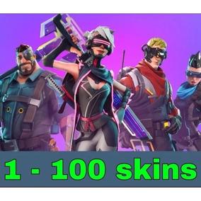 Fortnite C/o/n/t/a/s Aleatórias Com 01 À 100 Skins