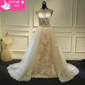 90b2992754 Vestido Novia Desmontable - Vestidos de Novia Largos de Mujer 16 en ...