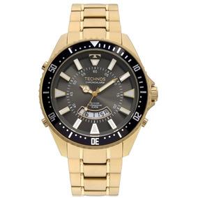 f7afd9c87a9f5 Relogio Technos Skydrive Dourado - Relógios De Pulso no Mercado ...
