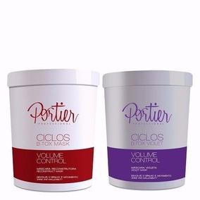Kit Portier Botox Ciclos Mask + Violet - 2 Produtos+ Brinde