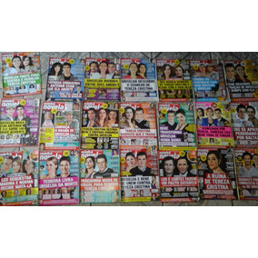 Lote 21 Revistas Minha Novela 2011 - 2012 Ótimo Estado