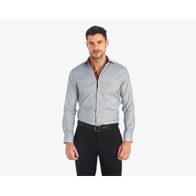 Camisa Wallstreet Collection Gris Pr-1422442