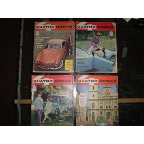 Coleção Revistas 4 Rodas - Nº 01 À 113 (1960/1969)