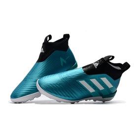 4397d3f115bcb Chuteira Adidas Ace 17 Azul E Preta - Chuteiras no Mercado Livre Brasil