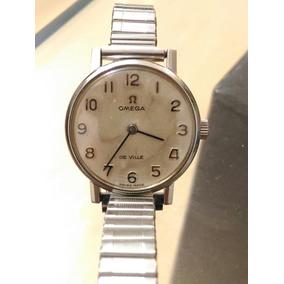 Relógio Omega De Ville Feminino Ano 1967 Ler O Anúncio.