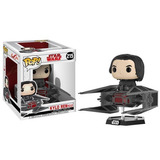 Funko Pop Star Wars Kylo Ren With Tie Fighter Rider Original