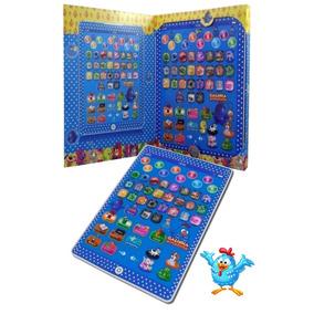 Tablet Infantil Educativo Multifunções Galinha Pintadinha G