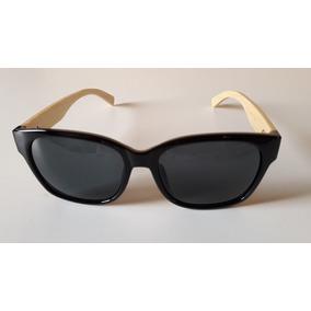 d7b34164b Oculos Retrô C/ Aste De Madeira Wood /bamboo Receituário Sol ...