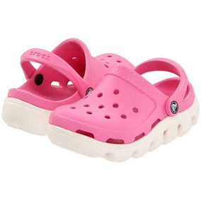 Crocs Kids Duet Sport Clog Orignal Pink Lemonad. C