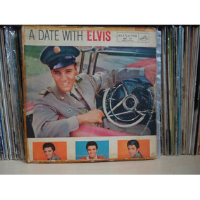 Lp Elvis Presley-a Date With Elvis / Bbl-75-mono/anos 60