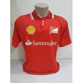 Kit Camiseta Gola Cereca + Bone Ferrari Vermelho Barato. São Paulo · Camiseta  Ferrari Santander d6620ed2c5e