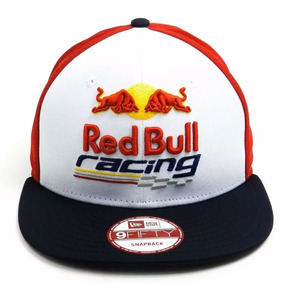 663a07b0da5de Bone New Era Red Bull Aba Reta - Bonés no Mercado Livre Brasil