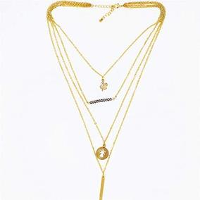 Collar Para Mujer, Gold