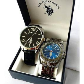 Set Relojes U.s. Polo Assn Nuevos Originales Caballero
