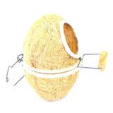 Ninho De Canário - Oval Com Poleiro - Sisal