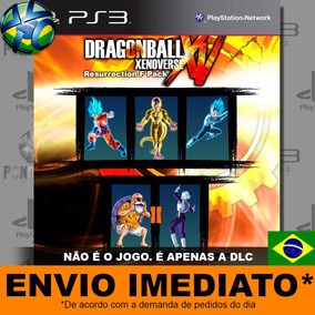 Dlc Dragon Ball Xenoverse Resurrection F Pack Ps3 Digital