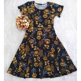 2d25fa8ef Vestido Dourado - Vestidos Femininas no Mercado Livre Brasil