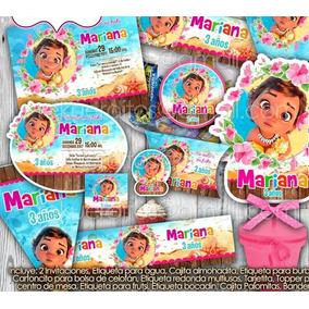 Kit Imprimible Etiquetas Fiesta Moana Bebe Piñata Bolo Dulce