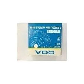 20 Cx Disco Tacografo Semanal 125km Vdo