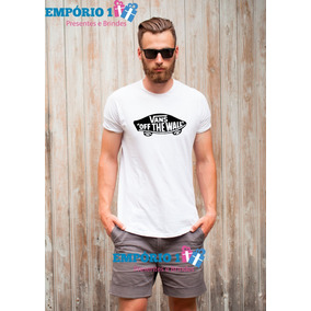 Camiseta Vans Off The Wall - Camisetas Manga Curta Masculino no ... 4c020da1cd0