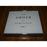 Cd New Order / Substance 1987 (nuevo Y Sellado) 2 Cds