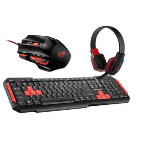 Kit Teclado Tc160, Mouse Mo236 Fone Ph073 Pc Gamer
