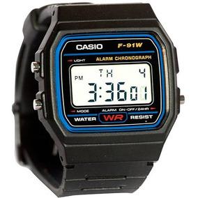 Relogio Casio F91 Classico Preto 100% Original Frete Gratis