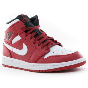 cheap for discount ac230 b6a49 Nike Air Jordan 1 Mid Rojas Importadas