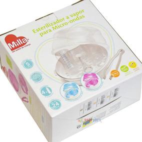 Esterilizador De Mamadeiras Para Microondas A Vapor Branco