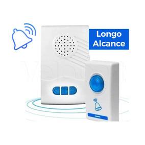 Campainha Sem Fio Wireless 100 Metros 32 Toques Residencial