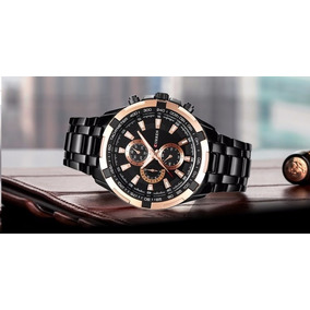 Relógio Original Curren Masculino De Luxo