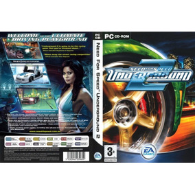 Need For Speed Underground 1 E 2 Pc (mídia Física)